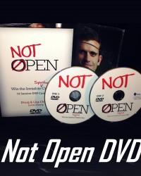 Not Open DVD Pic for bookstore