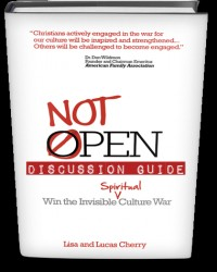 not open discussion guide cover